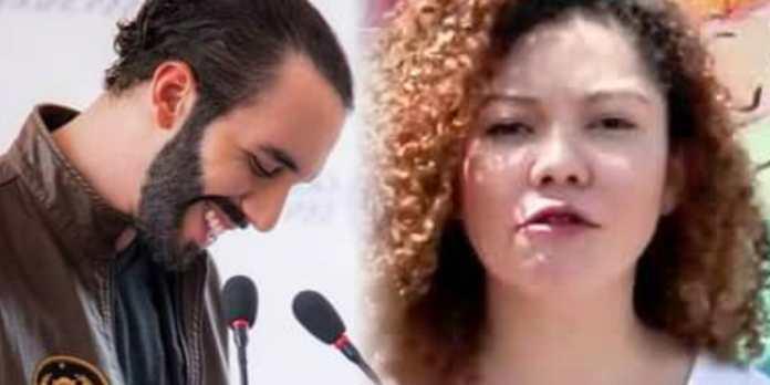 Daniela Genovez dice que el peor error del FMLN fue haber tenido a Nayib Bukele como uno de sus miembros