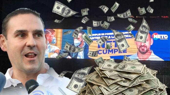 Neto Muyshondt prefiere gastar 100 mil en publicidad en lugar recoger la basura. La Capital parece un botadero a cielo abierto.