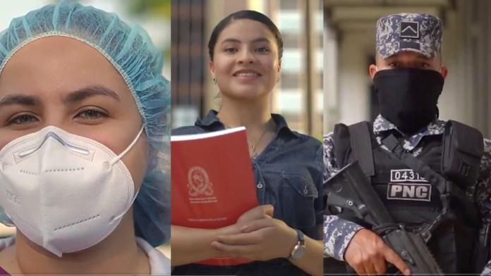 La nivelación de salarios para médicos, docentes y policías inicia el 1 de enero, según el Presidente Nayib Bukele
