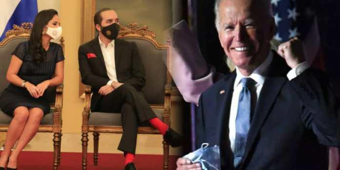 Presidente Bukele y Primera Dama envían sus felicitaciones a Joe Biden al asumir la presidencia en EE.UU.
