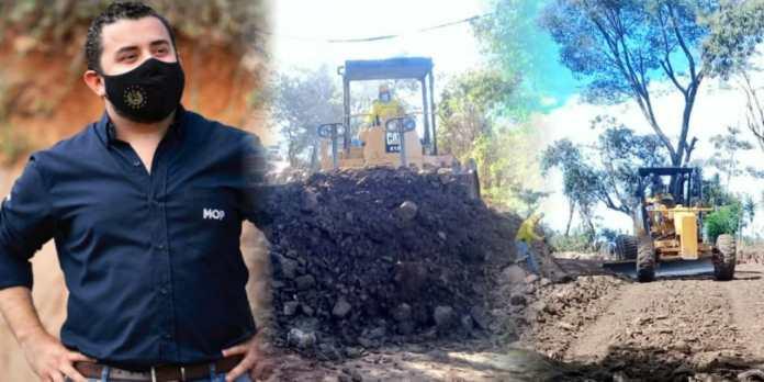 Obras en El Salvador no se detienen, MOP avanza con la conectividad vial en el oriente del país