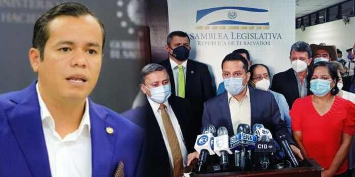 Diputados y alcaldes de ARENA y FMLN presentan pieza de correspondencia para interpelar a Ministro Zelaya