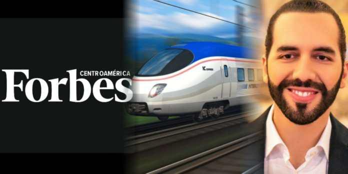 Forbes destaca a El Salvador porque muy pronto tendrá su Tren del Pacífico para el desarrollo de la nación
