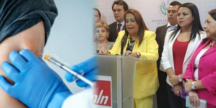 FMLN intenta bloquear el ingreso de vacunas contra el COVID-19 para que nadie pueda curarse