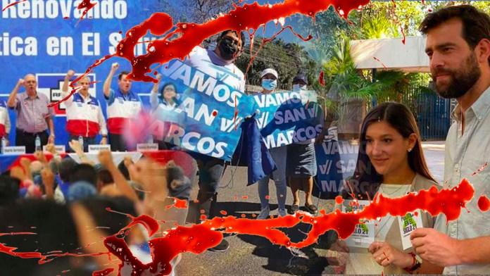 ARENA, VAMOS y NUESTRO TIEMPO se cuelgan del asesinato de un militante del FMLN para hacer campaña política