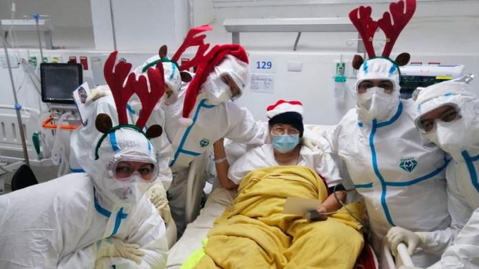 Maria Chichilco supera el COVID-19 luego de pasar ingresada por ocho días junto a sus hijas que también fueron diagnosticadas