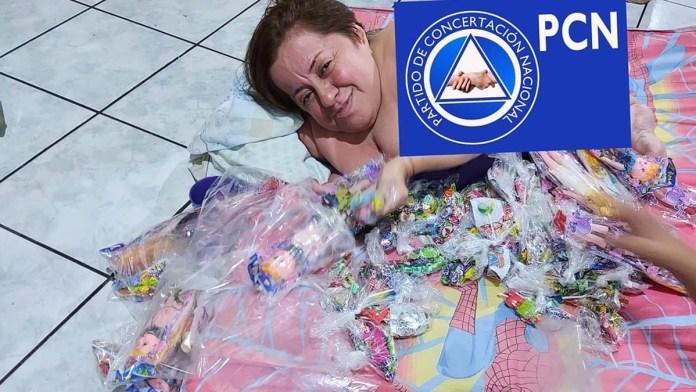 Hackean página de Eileen Romero y suben foto un poco comprometedora sobre sí misma en las vísperas de las próximas elecciones legislativas