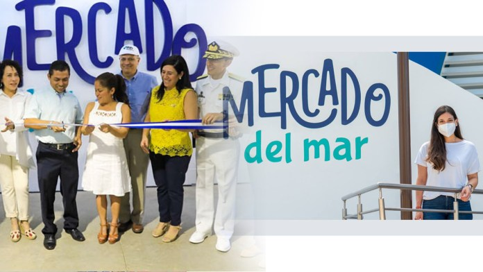 Candidatos de Nuestro Tiempo usan obras de Bukele para hacer propaganda, luego que Aida Betancourt se tomara una foto en el Mercado del Mar