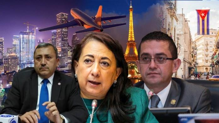 Diputados del PCN, FMLN y ARENA gastaron fondos públicos en viajes en plena pandemia, a pesar de ser momentos difíciles para los salvadoreños