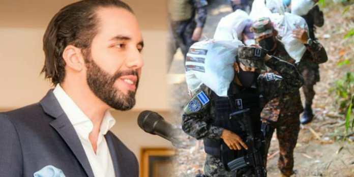 Presidente Bukele afirma sentirse orgulloso del Ejército de El Salvador