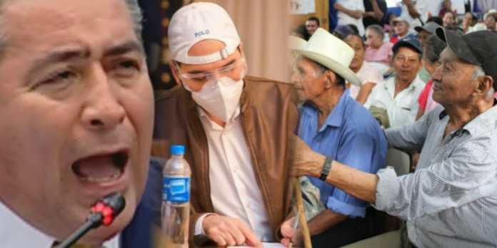 Portillo Cuadra se opone a que abuelitos reciban aumento económico de la pensión mínima