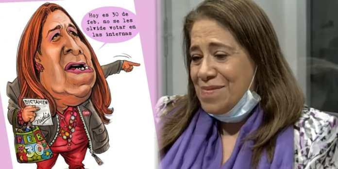 Nidia Díaz pide al pueblo que agradezcan que firmó los Acuerdos de Paz ya que eso permitió que hoy le hagan memes