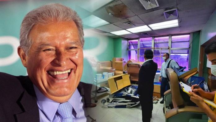 FMLN dejó en la ruina unidades de salud, durante más de 30 años nunca se le dio mantenimiento necesario y dejaron vencer medicamentos