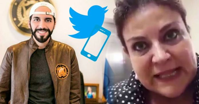 Margarita Escobar le exige a Twitter que cancele la cuenta del Presidente Bukele porque El Salvador lo está pidiendo