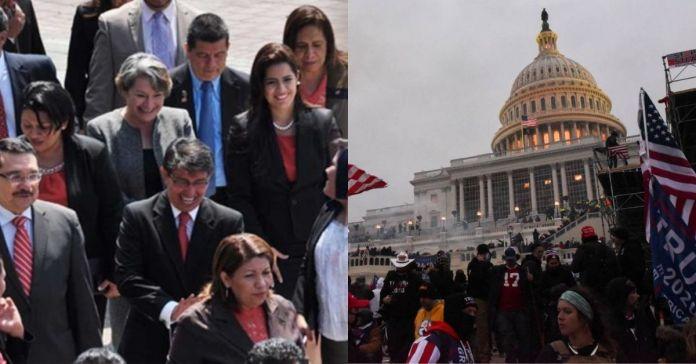 Diputados aprueban emitir pronunciamiento público ante hechos ocurridos en el Congreso de los Estados Unidos