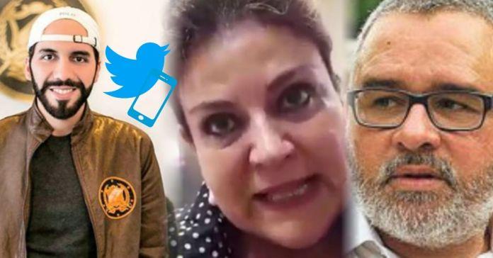 Mauricio Funes respalda petición de Margarita Escobar y exigen que Twitter cancele la cuenta del Presidente Bukele