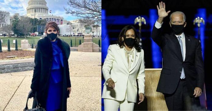 Embajadora Milena Mayorga se encuentra en la toma de posesión del nuevo Presidente de EE.UU, Joe Biden