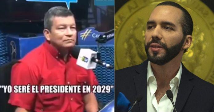 Chino Flores dice que por «fe» en el 2029 será presidente de El Salvador y mejor que Bukele