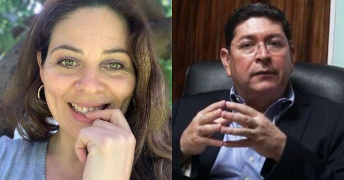 Bertha Deleón dice que se siente satisfecha con la resolución de la Sala, al no dejar competir a un «patán violador de una vida libre de violencia» : Walter Araujo