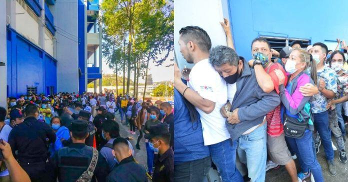 Fuerte aglomeración se concentró en las afueras del estadio Cuscatlán para la final entre Alianza y Águila
