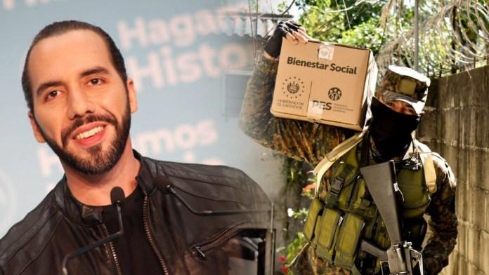 En menos de 12 días se han entregado más de 700 mil Paquetes Alimentarios a todos los salvadoreños de la zona central de El Salvador