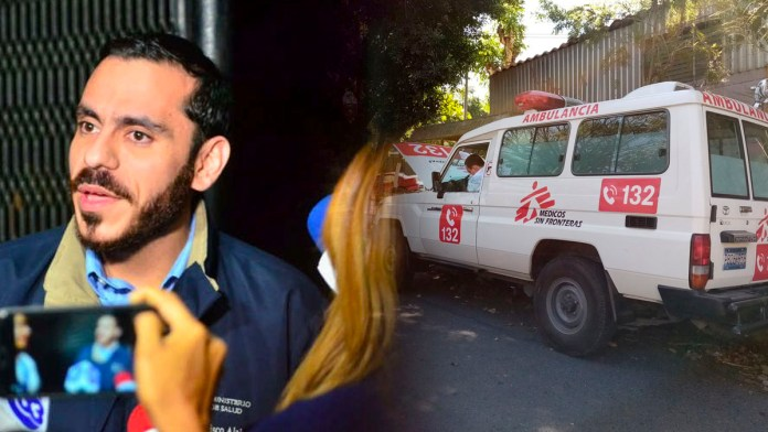 Gobierno repudia los actos de violencia contra los médicos sin fronteras, luego que se diera a conocer los recientes hechos de violencia