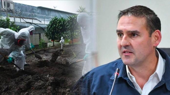 Neto Muyshondt no le paga su salario a los sepultureros porque se gasta el dinero en su campaña electoral para