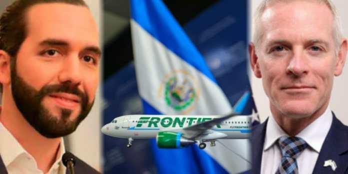 Embajador O´Brien dice estar orgulloso que El Salvador tenga la presencia de una nueva aerolínea estadounidense, afirmando que hace aún más fuerte los lazos entre ambas naciones