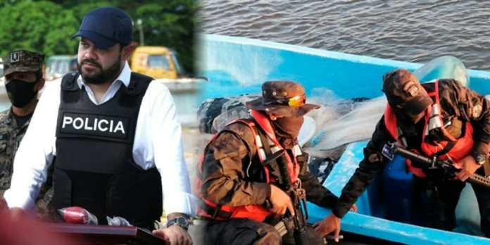 Ministro Rogelio Rivas anuncia millonaria incautación de droga