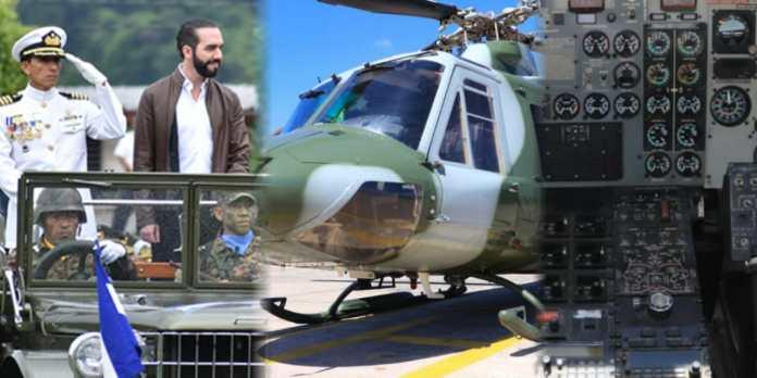 vGobierno ingresa a línea de vuelo el helicóptero Bell 412 No 253 que gobiernos de ARENA y FMLN mantuvieron sin darle uso desde el 2007 negando servicio a la población