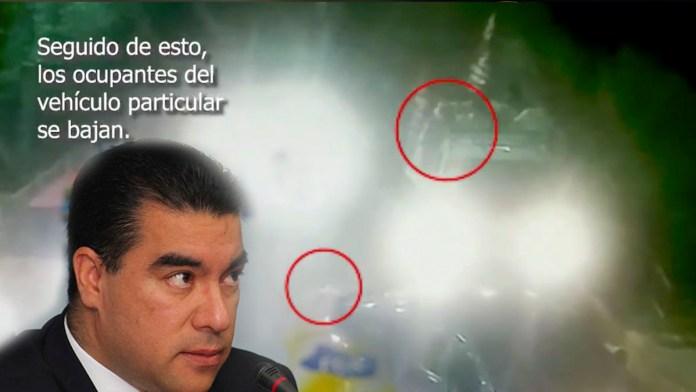 PNC publica los videos donde se ve que los militantes del FMLN disparan primero, la fiscalía no presentó estas pruebas a conveniencia