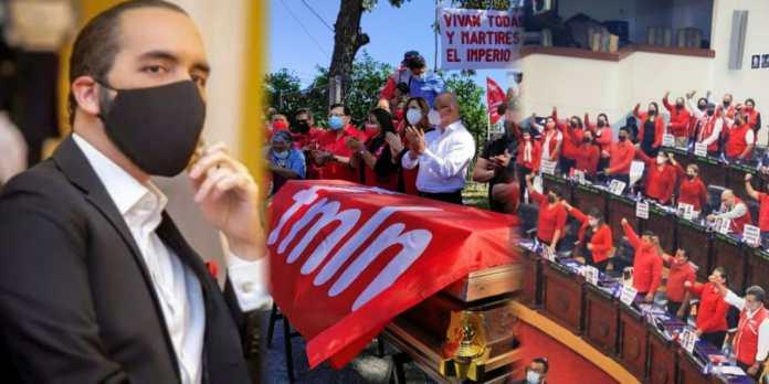 Diputados utilizan plenaria para atacar al Presidente Bukele haciendo uso político de la muerte de dos salvadoreños que apoyaban al FMLN