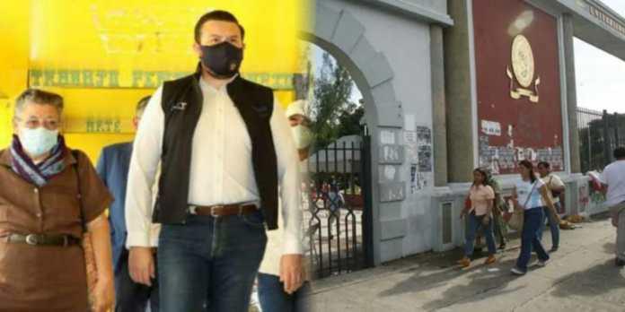 Autoridades de Gobierno visitan ex penal de Chalatenango para dar inicio a la construcción de la sede de la UES