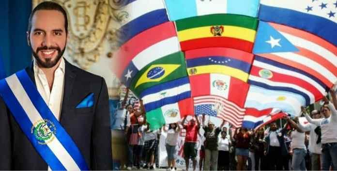 Salvadoreños hacen saber a todo el mundo que los partidos corruptos de El Salvador intentan dar Golpe de Estado al Presidente mejor evaluado de América Latina