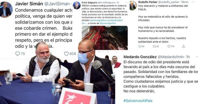 Mismos de siempre muestran su lado más hipócrita utilizando muertes de salvadoreños para campaña con el fin de atacar a Bukele