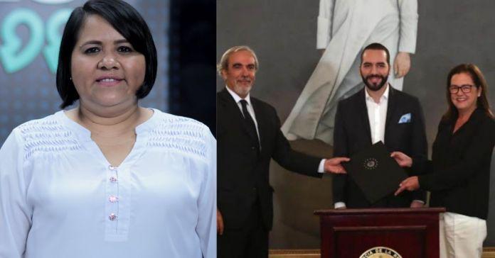 Cristina Cornejo dice que Luis Porto está siendo cómplice de Bukele para tapar actos de corrupción