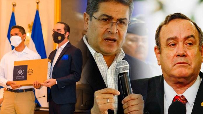 Hondureños y Guatemaltecos reclaman que no tienen un presidente como Nayib Bukele, debido a la labor que están realizando por los estudiantes