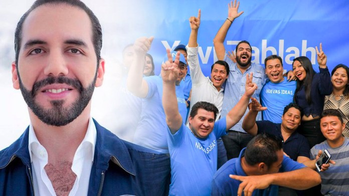 Los salvadoreños dicen que ya saben por quien votar, por la N de Nayib. Nayib Bukele ha tenido una aceptación inimaginable
