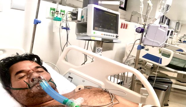 Confirman que Salvador Castellanos ha vuelto a ser hospitalizado tras presentar secuelas del mortal COVID-19