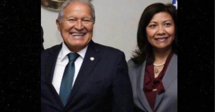 Congresista Norma Torres amiga de Sánchez Cerén dice que El Salvador está siendo mal liderado por el «narcogobierno» de Bukele