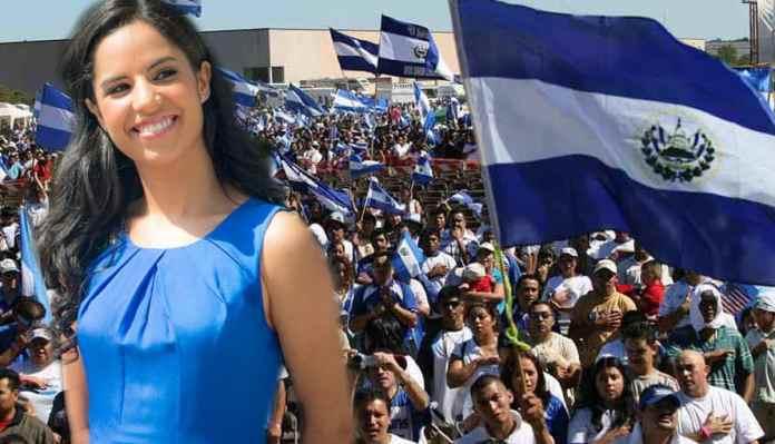 Salvadoreños festejan cumpleaños de la Primera Dama de la República de El Salvador, Gabriela de Bukele