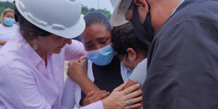 Así fue la reacción de los habitantes de la comunidad Los Cocodrilos al conocer que el Gobierno muy pronto les entregará una vivienda digna