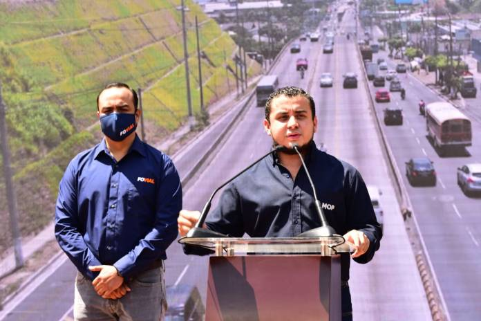 Ministro de Obras Públicas anuncia la #RehabilitaciónVial de cinco proyectos de calle, cuatro de ellos en el Gran San Salvador