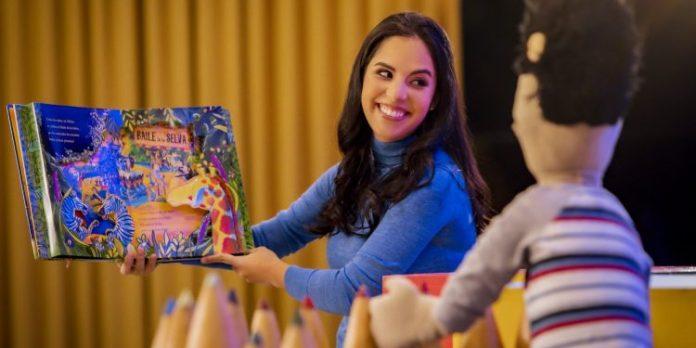 Primera Dama entrega colección de libros a estudiantes del sector público y privado de manera gratuita, promoviendo la lectura desde la primera infancia