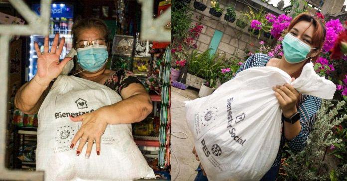 Gobierno de Bukele continúa con entrega de paquetes alimentarios casa por casa a familias salvadoreñas