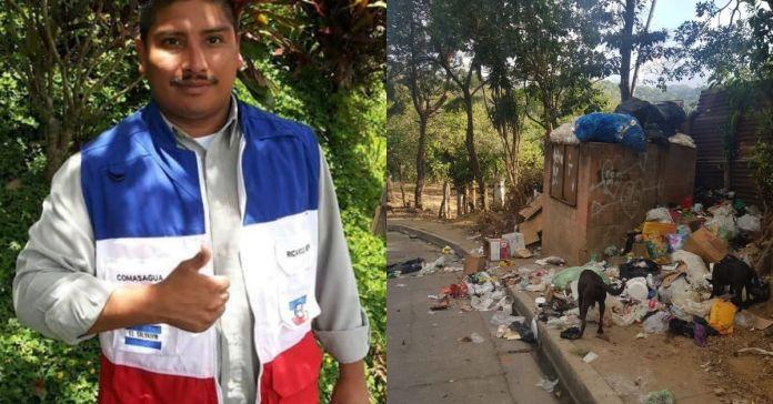 Denuncian al alcalde del municipio de Comasagua por suspender recolección de basura, provocando foco de enfermedades