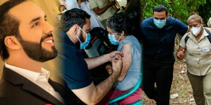 Ministro Alabi inicia vacunación contra el COVID-19 casa por casa como lo ordenó el Presidente Bukele