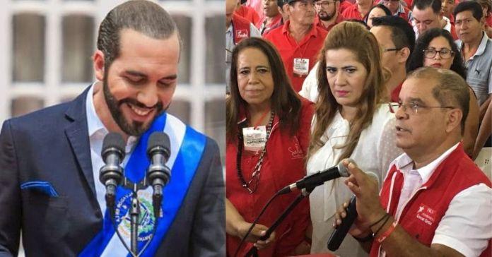 FMLN califica como «Golpe de Estado» las acciones realizadas por la nueva Asamblea y llama a la comunidad internacional a imponer orden a Bukele