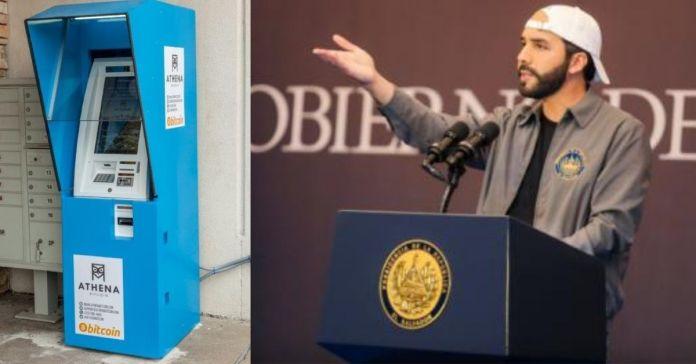 Empresarios de criptomonedas importarán a El Salvador 14 cajeros con la visión de instalar uno por departamento