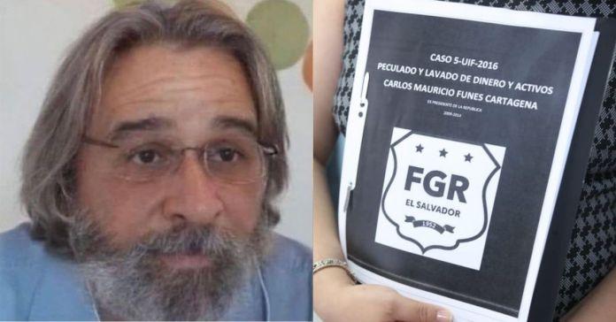 FGR presenta pruebas que confirman que Funes junto a 31 implicados entre ellos familiares, desviaron fondos públicos a cuentas personales